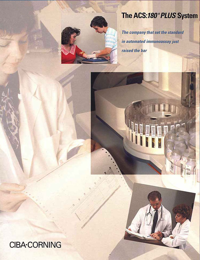 Ciba-Corning Brochure