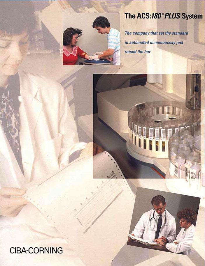 Ciba-Corning Brochure