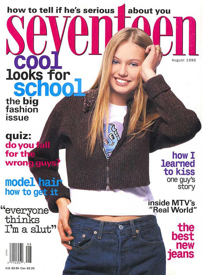 Seventeen Magazine Cover